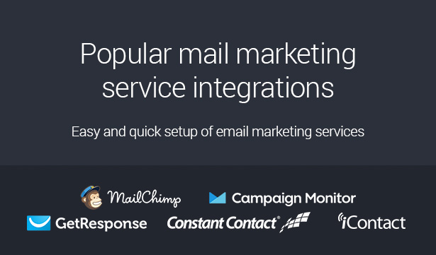 email marketing service integration